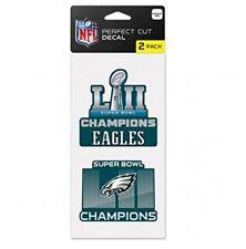 "Philadelphia Eagles Super Bowl LII 4"" x 8"" Multi-Use 2 Pack Decal WinCraft"
