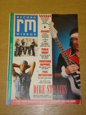 RECORD MIRROR 1988 OCT 15 DIRE STRAITS PUBLIC ENEMY