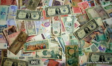 Estate Currency Sale of 120 World Banknotes 100+ Year Old Rare, Russia, Japan US