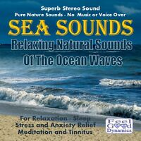Sea Sounds CD Relaxing Natural Sounds Of The Ocean Waves - For Relaxation