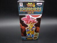 Banpresto SS GOD GOKU Figure Dragon Ball Heroes World Collectable  WCF Vol.7 026