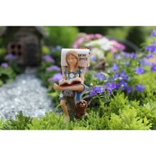 Miniature Dollhouse Fairy Garden - Waiting on Mail - Accessories