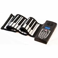 Roll Up Travel Electronic Keyboard Flexible Piano 49 Keys PURETONE