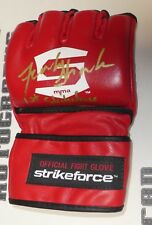 Frank Shamrock Signed Official StrikeForce Fight Glove BAS COA UFC 1st Champion