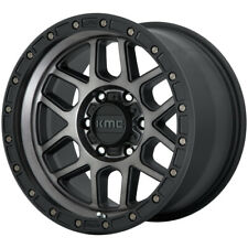 "KMC KM544 17x9 6x5.5"" -12mm Black/Tint Wheel Rim 17"" Inch"