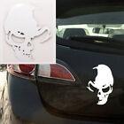White Skull Vinyl Car Decal Window Truck Bumper Auto Laptop Decals Wall Sticker
