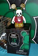 "DISNEY VINYLMATION 3"" Set 3 Park Holiday Day of the Dead Muertos w Box & Foil"