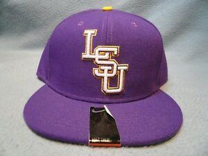 Nike LSU Tigers True Vapor Fitted BRAND NEW hat cap Louisiana State dri fit