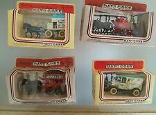 Lledo Days Gone DIE-CAST MODEL  x 4 Job lot Car VAN Horse Cart VEHICLES