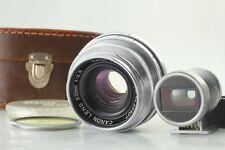[ Exc+5 Case ] CANON 35mm f/2.8 Lens + Finder Leica L Screw Mount L39 LTM Japan