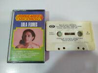 LOLA FLORES Beliebte Liederbuch exitos 1988 - Tape Kassette