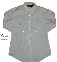 $80 NWT M XL MEN Polo Ralph Lauren SLIM Fit Button Down Dress Shirt Pony STRETCH