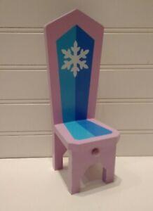 Kidkraft Disney Princess Frozen Castle Dollhouse Furniture Throne Chair