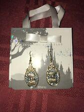 Disney Parks Kingdoms & Castles Jeweled Cinderella Silhouette Earring