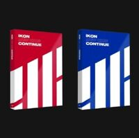 IKON Mini Album New Kids : Coutinue Red+Blue ver. Cd+Poster+photo