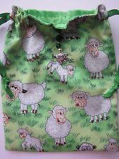 Funny Farm Sheep & Lambs,Tarot Runes Crystals Angel Bag Pagan Wiccan