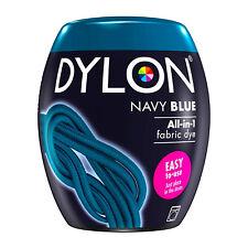 DYLON Textilfarbe Marine Blau Farbe & Fixierer für 600g Stoff fabric dye navy