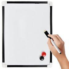 Be!Board B1301 Magnetic Glass Board//Magnetic Pinboard//Whiteboard//Dry Wipe Board 90 x 60 cm Black