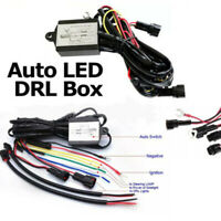 LED Daytime Running Light Automatic ON/OFF Controller Module Box Relay Univer.FR