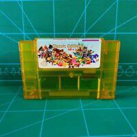 Super 68 in 1 SNES Nintendo Multi Cart Game Cartridge Battery Save NTSC Version