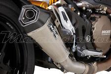 Silencieux Pot échappement Remus Hypercone Inox noir Ducati Monster 1200 S 2014+