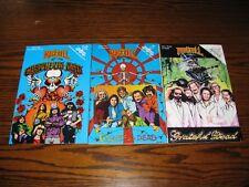 GRATEFUL DEAD - Rock-N-Roll Comic Book Set!!  RARE!!  1992