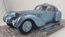 Minichamps 1936 Bugatti Type 57SC Atlantic Light Blue Resin 1:18*New Item