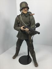 1/6 SIDESHOW WW1 GERMAN STORMTROOPER MP-15 +STAND TRENCH RAIDER DRAGON DID BBI