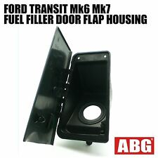 For Ford Transit Mk6 Mk7 2000 - 2013 Fuel Cap Tank Filler Pipe Door Flap Housing