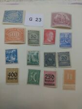 Mint German stamps unchecked for value Lot G 23