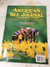 American Bee Journal Vintage Magazine September 2012