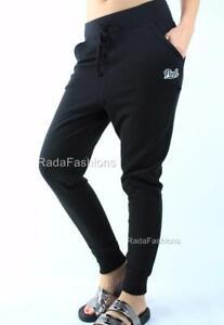 Victoria's Secret PINK Drop Crotch Jogger Fleece Sweat Pants NWT