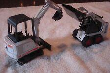 Bobcat 753 Skid-loader & X325 Excavator 1:25 scale
