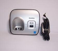 uniden d1660 cordless phone main base for handsets d1680 d1685 d1688 dcx160
