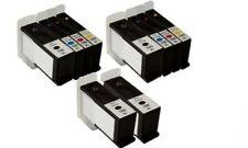 10 Black Color Inkjet Cartridges for the Lexmark 100XL All-In-One S301 S305 S605