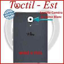 Wiko U Feel 4G ORIGINAL Lentille En Verre pour Caméra Appareil Photo Blanc