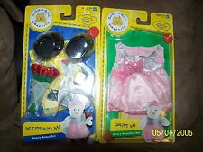 """Build a Bear Workshop """"Beary Beautiful"""" Clothes and Accessories Set - NEW!"""