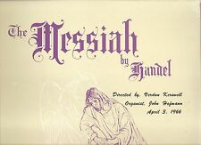 NORTH TONAWANDA School Band Chorus HANDEL Messiah private LP SEALED '66 Hofmann