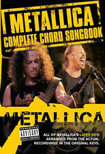"""""""Metallica"""": The Complete Chord Songbook The Later Years, , New Book mon"""