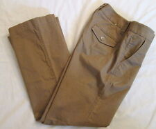 GAP Hipster Stretch Trouser Brown sz 0 x 29 *FREE SHIPPING* Very Nice Flared Leg