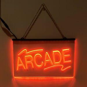 Arcade LED Sign Game Room Light