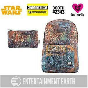 Loungefly Star Wars Jabba's Palace Backpack Pencil Case Set - EE Exclusive