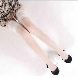 USA Sexy Lady's Lace Top Stay Up Thigh-High Stockings Woman Pantyhose Socks Gift