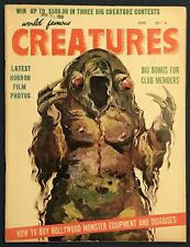 World Famous Creatures #4  June 1959  High Grade Copy!