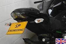 Kawasaki Z800 (2014) SP Engineering Tail Tidy - Standard Indicator Fitment