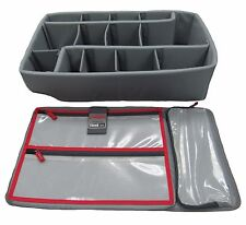 New Think Tank Dividers & Lid organizer for Pelican 1510 Case.