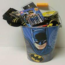 Batman Handyman's Gift Bucket Batman Batteries Duct Tape & MORE! Father's Day!