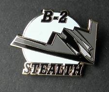 B-2 STEALTH BOMBER AIRCRAFT NORTHROP GRUMMAN LAPEL PIN BADGE 1.5 INCHES