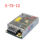 1pc S-75-12 12V 6.3A 75W Switching Power Supply Transformer For LED Light