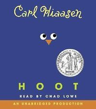Hoot by Carl Hiaasen (2004, CD, Unabridged)